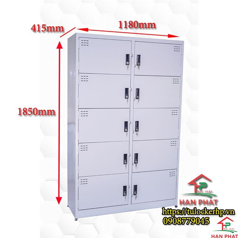 Tủ locker 10 cánh